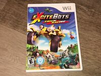 ExciteBots Trick Racing Wii Nintendo Wii Complete CIB Authentic