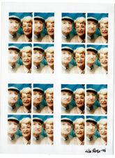 Photographie signée Lisa Roze photomaton couleur couple 1996 photo signed