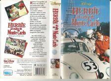 """VIDEOCASSETTA VHS""""HERBIE AL RALLY DI MONTECARLO-DINSEY-VS 4379-SETTEMBRE 1992"""