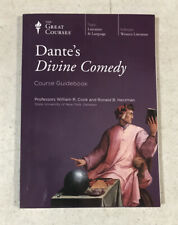 The Great Courses Dantes Divine Comedy PBK Guidebook By Professor William Cook