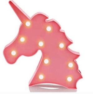 Decorative Unicorn Light - Night Light for Baby-Teen-Tween-Girls-Gift