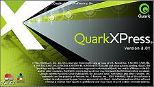 QUARKXPRESS 8.01 sous PC (mise en page prof.)