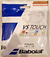 Babolat VS Touch Natural Gut Tennis String16g/130 BLACK 40 feet BRAND NEW