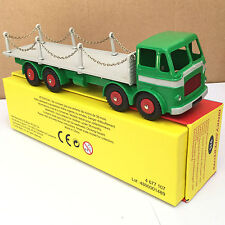 1:43 ATLAS DINKY TOYS / SUPERTOYS 935 LEYLAND OCTOPUS FLAT TRUCK MODEL CHAINS