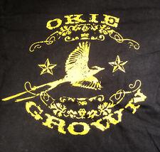 OKIE Grown - Medium T-Shirt - Black, Pre-Owned - American Apparel [Tulsa]