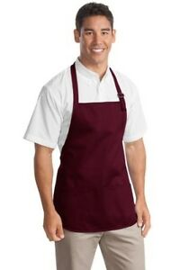 Port Authority MED Apron pocket Teflon A510 10 colors