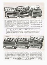 1955 AD SORRENTO ACCORDIONS, COLLIN-MEZIN VIOLINS, ELECTRIC GUITARS, UKULELE