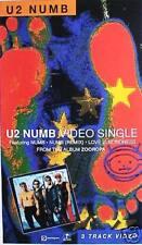 "U2 ""NUMB - VIDEO SINGLE"" AUSTRALIAN PROMO MUSIC POSTER - Group & Album Artwork"