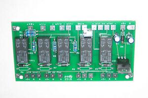 Jensen 990/2520 Mic Preamp Phase/Pad/Phantom Pwr PCB
