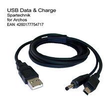 Usb données Câble de charge-Archos 204 400 500 Gmini 200 xs200