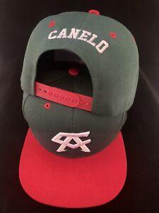 Canelo Alvarez Hat Mexico Mexican flag Green BOXING CHAMPION SNAPBack Jalisco