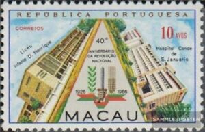Macau 431 (kompl.Ausg.) postfrisch 1966 Militärputsches in Portugal