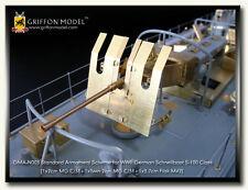Griffon Model 1/72 Schnellboot S-100 Standard Armament Scheme for Revell #05051