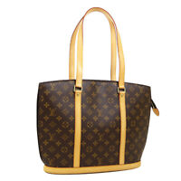 LOUIS VUITTON BABYLONE SHOULDER TOTE BAG MB0015 PURSE MONOGRAM M51102 AK45745