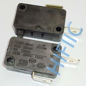 1PCS/5PCS Merchant CMm SM-51 Micro Limit Switch Com And Nc 2Pins 16A 250VAC T125