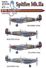 EagleCals Decals 1/48 SUPERMARINE SPITFIRE Mk.IIa British Fighter