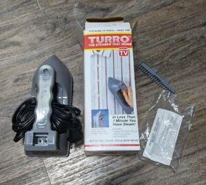 "Vintage 1995 Emson TURRO ""THE STEAMER THAT IRONS"" Portable Travel Steamer Iron"