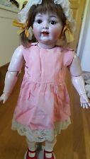 DRESS ONLY !!  Ancienne Robe Pour Poupée Ancienne Antique dress for antique doll