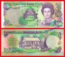 CAIMAN CAYMAN ISLANDS 50 Dollas 2002 2003 Pick 32a UNC