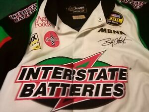 New WO Tags Chase Drivers Line Interstate Batteries Bobby Labonte  Nascar Jacket