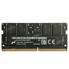 Micron 16GB 1X16GB PC4-2666V DDR4-2666 PC4-21300 260p 1.2v Sodimm Laptop Memory