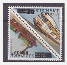Surinam / Suriname 2005 Trein train zug overprint 3,50 on 3 cent MNH