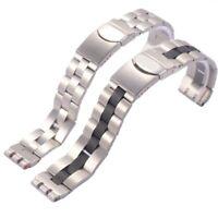 22mm/20mm s steel bracelet (FITS) Swatch Irony Chronograph Windfall YCS410GX