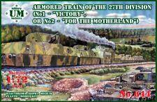 """Um-mt 1/72 Acorazada Tren de 27th-Division (1- """"Victoria """" 2-"""" para el Motherla"""