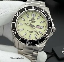 Orient Mako XL Mens Automatic Full Lume 200M Watch FEM75005R9 Brand New
