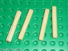 4 x LEGO TECHNIC Tan Axle 4 with Middle Stop 99008 / Set 42055 41999 9398 42008