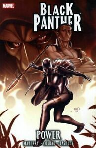 Black Panther Power TPB #1-1ST FN 2010 Stock Image