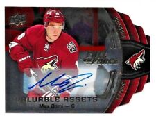 Max Domi RC 2015-16 Upper Deck Full Force Valuable Assets Rookie Auto-Coyotes RC