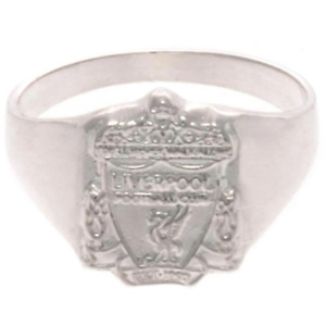 Liverpool FC Sterling Silver Ring Large