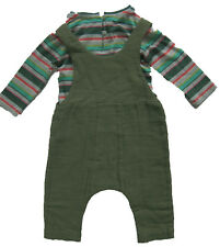 New Girls Green NEXT Playsuit & Top Age 4-5 Years RRP £22 DEFECTS
