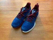Nike Kobe Bryant Focus Lakers Costal Blue Team Red Size 12 NEW