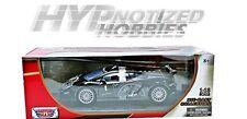MOTORMAX 1:18 LAMBORGHINI GALLARDO LP560-4 SUPER TROFEO DIE-CAST BLACK 79153
