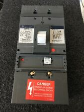 GE SGHA36AT0400 Spectra circuit breaker 400 A 600 V with 400A  rating plug Used