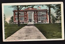 1943 Meredith NH New Hampshire  The High School VALENTINE SOUVENIR CO Postcard