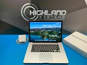 Apple MacBook Pro 15 RETINA Laptop / 3.3GHZ i7 / 512GB SSD / MacOS-2019