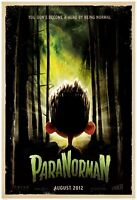 Paranorman movie poster (a)  : 11 x 17 inches : Animation