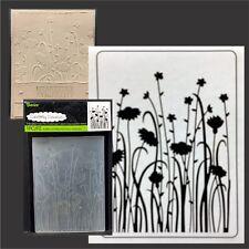 Wild Flower embossing folder - Darice embossing folders 30008391 flowers borders
