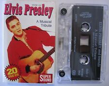 ELVIS AND FRIENDS A MUSCIAL TRIBUTE NAT KING COLE CHUCK BERRY CASSETTE TAPE