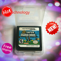 New Super Mario Bros (Nintendo DS,2006) Game Only for DS 2DS 3DS Christmas Gift