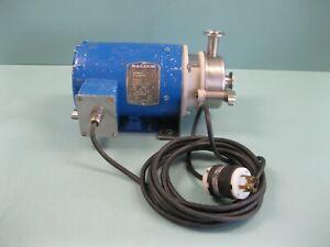 Alfa Laval GHC-00 Centrifugal Pump Baldor 1 HP Motor F15 (2899)