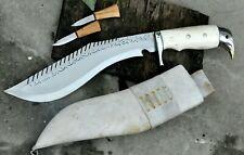 10 inches Blade Yak Bone handle Dragon kukri-khukuri-hunting and camping knife