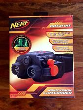 BRAND NEW RARE! Nerf Infrared Night Vision Goggles with Camcorder Black 39056