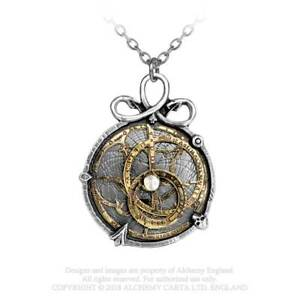 Alchemy England Gothique Anguistralobe - Pendentif Steampunk En Étain Avec