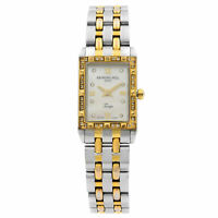 Raymond Weil Tango White MOP Dial Steel Diamonds Ladies Watch 5971-SPS-00995