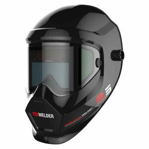 True color Auto Darkening Anti Fog UP type Welding Helmet for ARC/ TIG/ MIG WELD