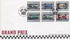 GB STAMP FIRST DAY COVER 2007 GRAND PRIX FORMULA 1 RARE UNADDRESSED COLLECTION
